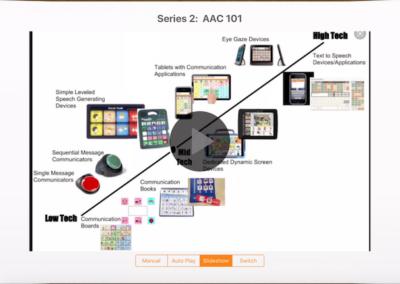 Augmentative and Alternative Communication (AAC) 101