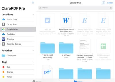 Claro PDF – How to Record
