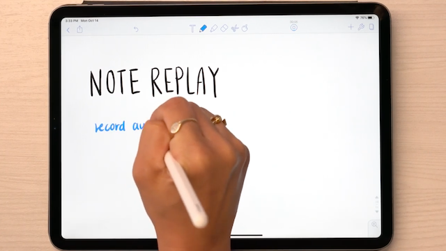 Notability – How to Record