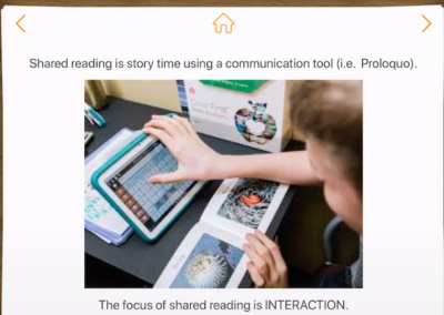 Shared Literacy – What it is and How to Find in Proloquo
