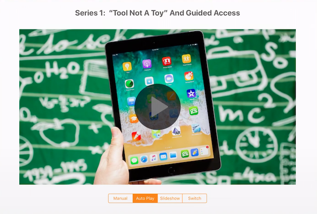 Guided Access – Tool Not a Toy